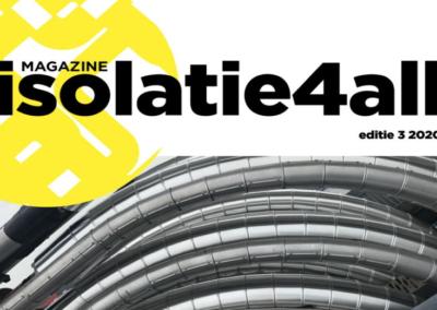 Isolatie4all is het platform voor de Nederlandse isolatiesector